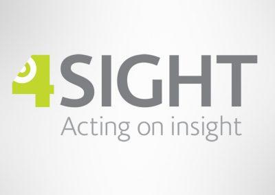 Brand logo design – 4sight