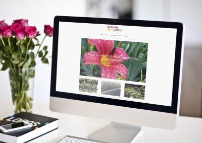 Website design – Blackfordby Nursery
