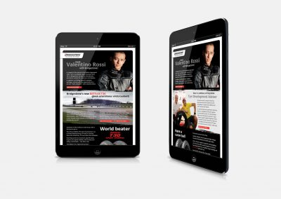 Email newsletter design – Bridgestone