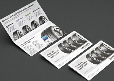 Receipt holder design – Bridgestone
