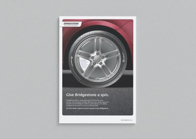 Point of sale design – Bridgestone