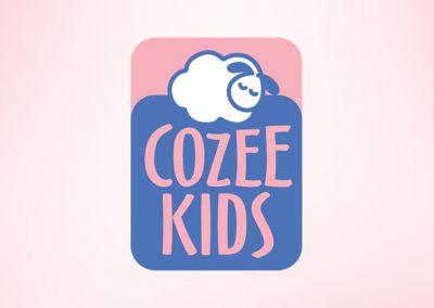 Start-up logo design – Cozee Kids