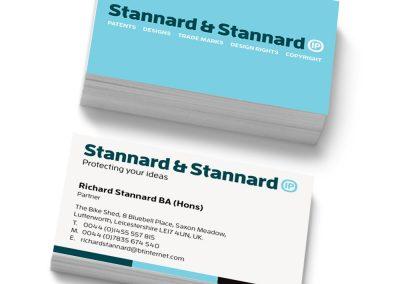 Logo & stationery design – Stannard & Stannard