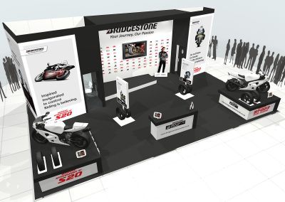 NEC exhibition stand design – Bridgestone