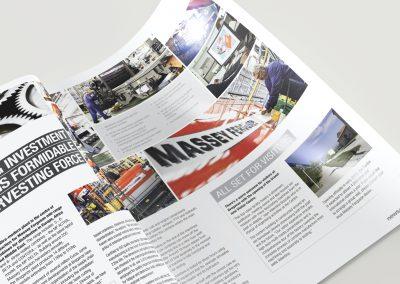 Company magazine design – Massey Ferguson
