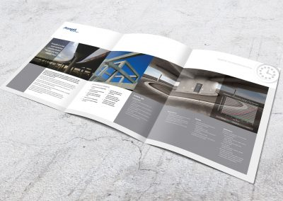 Product brochure design – CEMEX