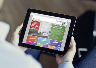 Website design – Readymix2go
