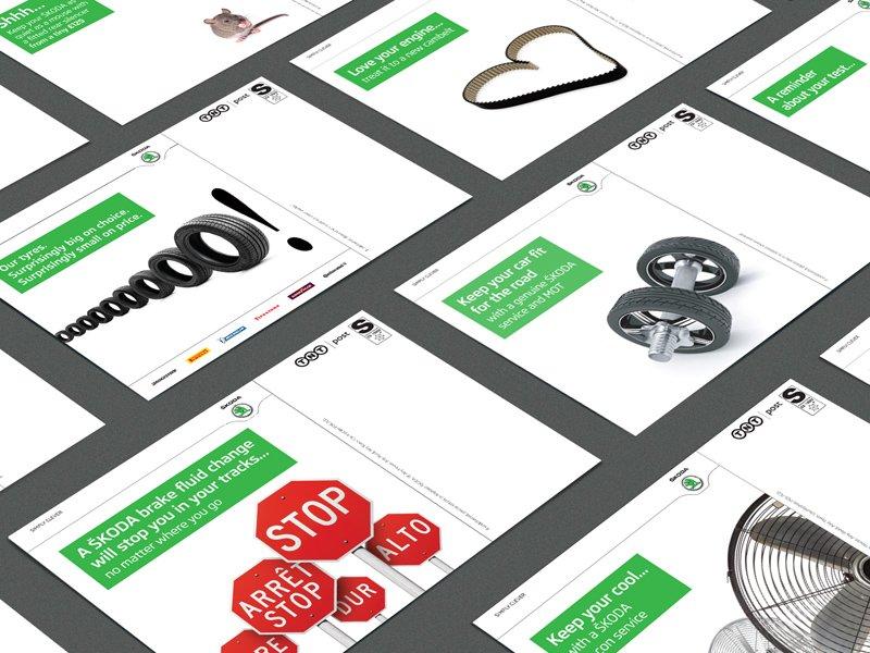 Design, marketing, copywriting – Skoda