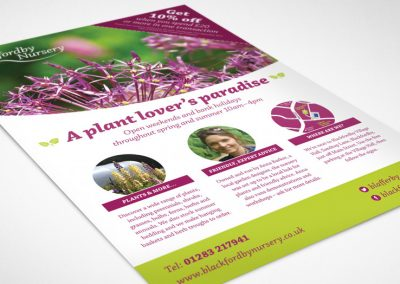 Flyer design – blackfordby nursery