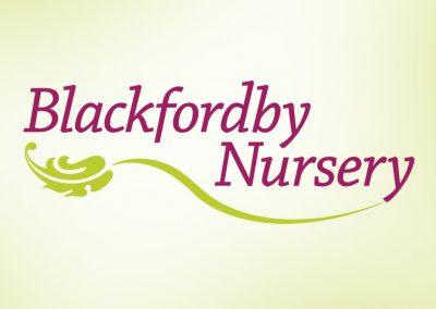 logo and branding design – blackfordby nursery