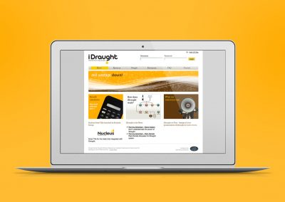 Website design – iDraught