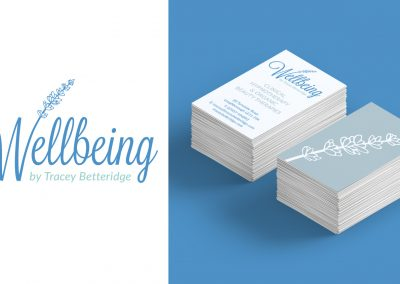 Logo & stationery design – Tracey Betteridge Wellbeing