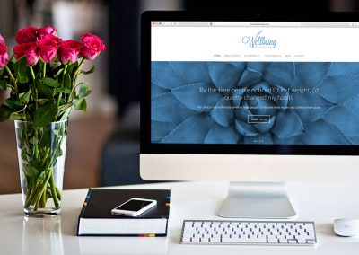 Website design – Tracey Betteridge Wellbeing