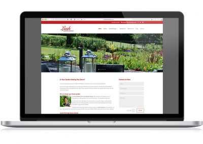 Website design – Lush Garden Design