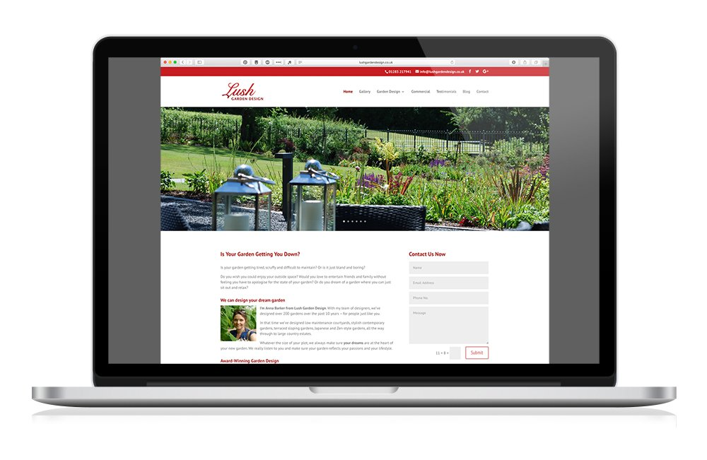 Keefomatic Web Design for small business