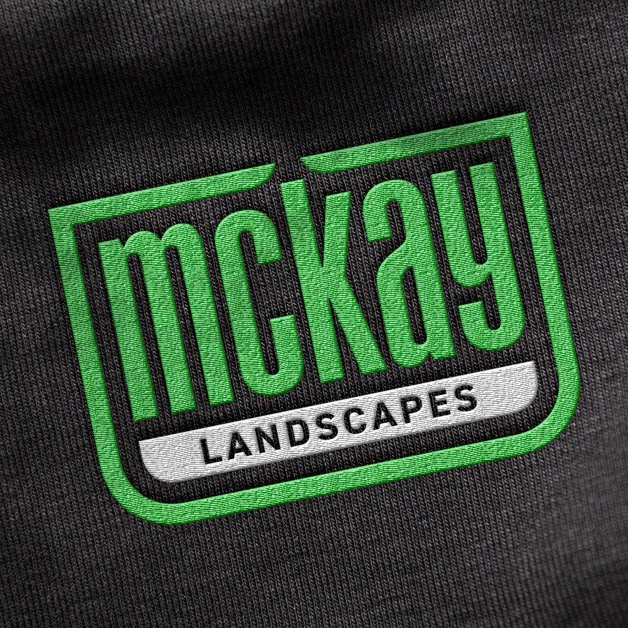 McKay Landscapes logo design