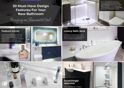 Digital slideshow for Ablutions Luxury Bathrooms